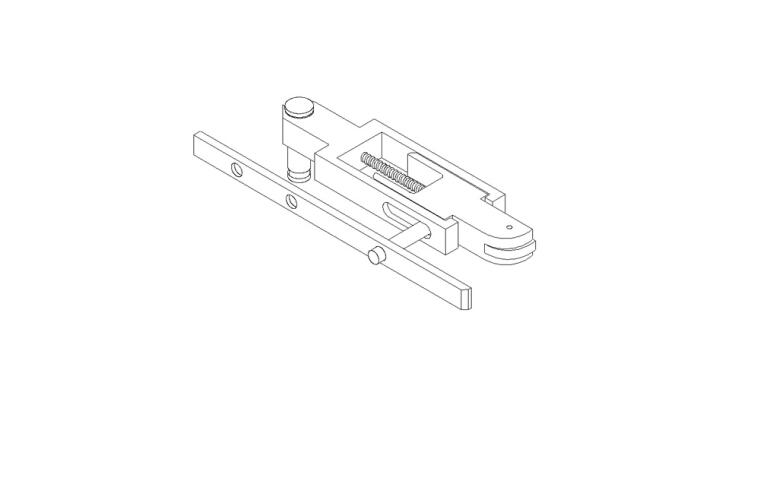 A-Series Spring Lock Assembly Spring Lock Assembly (Pair)